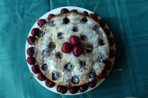 Cherry & Hazelnut Cake