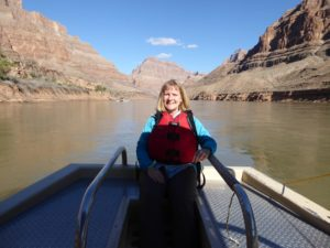 Boat ride on Colorado River