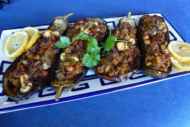 Eggplant with Pumpkin & Feta Recipe