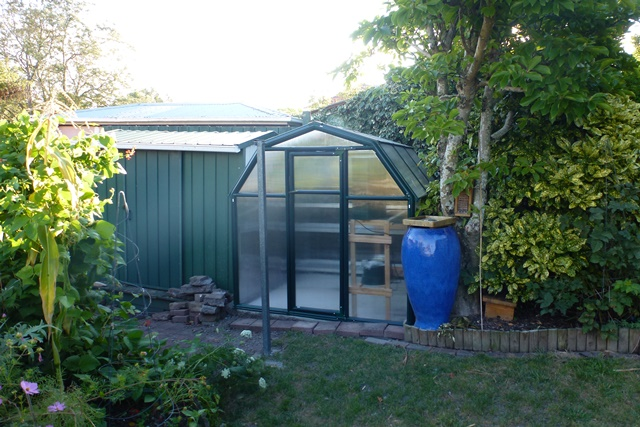 Greenhouse installed and ready to go