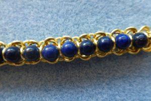 Semi-precious Lapis Lazuli beads