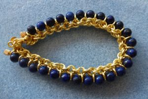 Chain Maille Jewellery with Beads