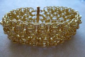 Chain Maille Cuff Bracelets