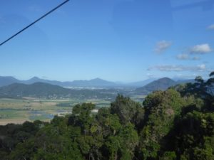 Views to Cairns from Cableway