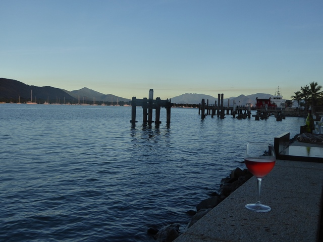 Drinks at the Cairns Marina