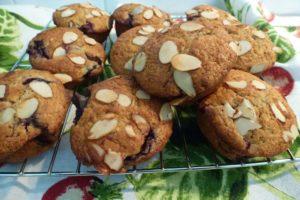 Cherry & Almond Muffins