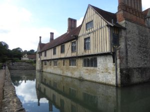 Ightham Mote - square moat