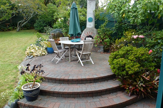 My outdoor area at the beginning of the year