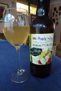 Making Apple Wine