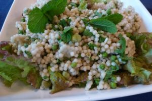 Broad Bean & Couscous Salad