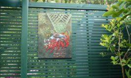 Powertex Wall Art for the Garden