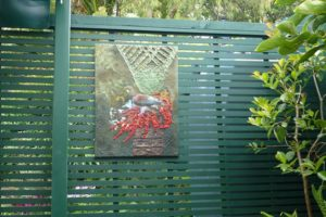 Powertex Wall Art for the Garden