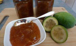 Feijoa & Ginger Jam Recipe