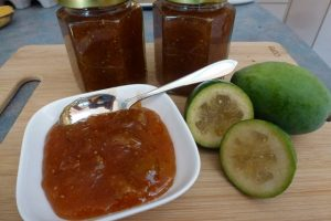 Feijoa & Ginger Jam Recipe