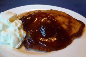 Pancakes with Apple Pie Jam