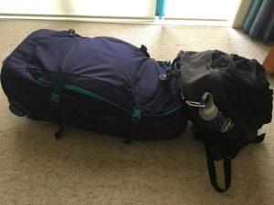 15kg + 5kg luggage