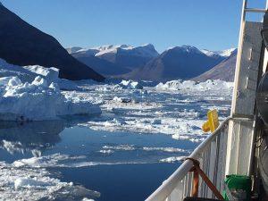 Nordvestfjord to Dauggard Jensen Glacier