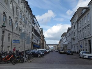 Amaliegard towards Amalienborg Square