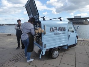Smallest coffee cart