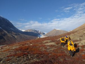 'Moderate-fast' heading towards the glacier, Frederiksdal