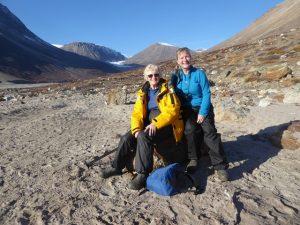 Gill and I: polar explorers!