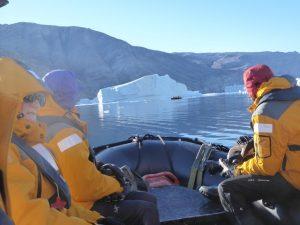 Nordvestfjord - off to hunt icebergs