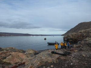 Landing at Ingmikertikajik