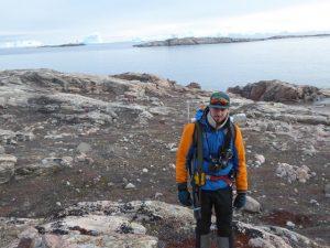 David - geologist & historian