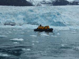 Glacier at Vikingsbugt