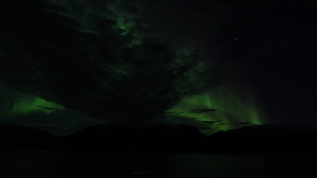 Aurora is not so good tonight