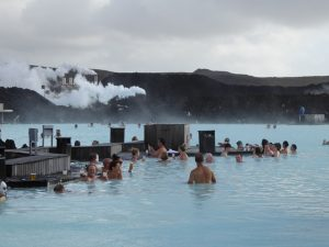 Blue Lagoon Face Masks and Bar