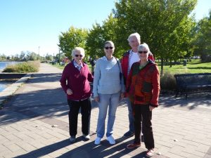 Gill, Marcia, Brian & Eke at Port Perry