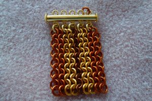 Ruffles Cuff pattern developing