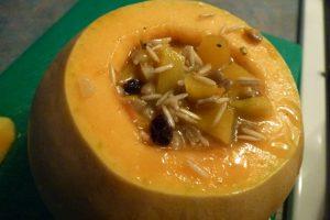 Stuffed Baked Pumpkin