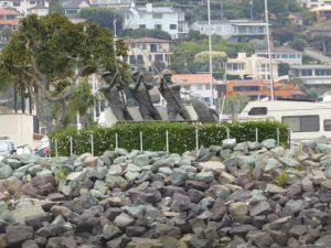 Tuna Fishermen sculpture