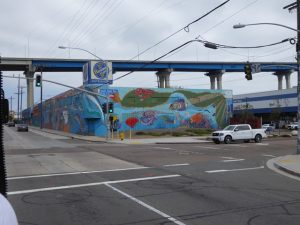 Street Art under Coronado Bridge