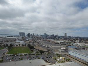 San Diego from Coronado Bridge