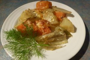 Fennel & Potato Bake
