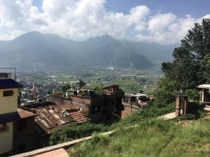 View to other side of Kathmandu valley
