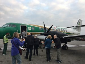 All aboard Yeti Airlines Mountain flight