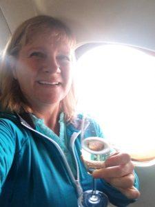 Cheers! Amazing flight