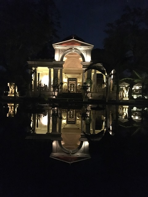 Wonderful reflections at the Garden of Dreams