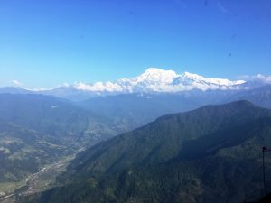 Flying out of Pokhara