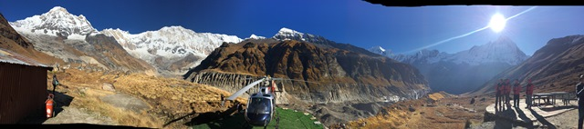 Panorama Annapurna Base Camp