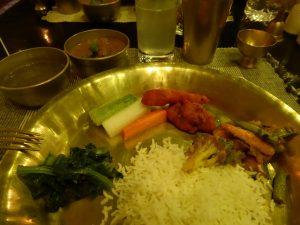 Traditional Nepali food
