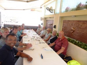 Group lunch at Nani's kitchen