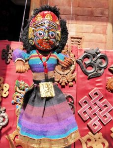 Carved puppet