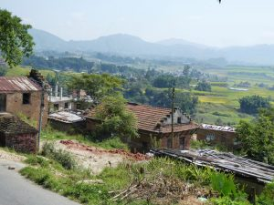 Countryside outside of Bhaktapur
