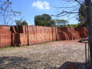 Locally made brick