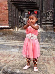 People enjoying Bhaktapur Durbar Square